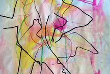 Abstract contemporary art / Great art not necessarily easily understood! A gift to the imagination