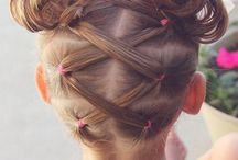 Little princesses' hair