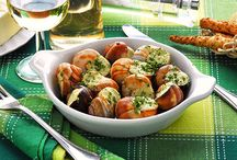 Escargots Dishes