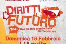 Diritti al Futuro Tour / Una piccola grande Italia da raccontare #dirittialfuturotour