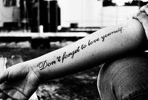 Tattoos / by Sydney Fields