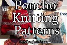 Knitting - ponchos