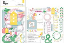 March/April 2016 Kits / March/April 2016 Quirky Kits. Main kit is 'Signs of Spring' the Lite kit is 'This Life' and the Embellishment kit is 'Happy Sunshine'.