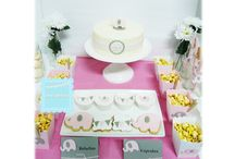 BABY SHOWER - PINK ELEPHANT / BABY SHOWER