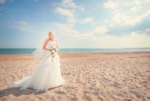 Beach wedding photographs / Taking wedding photographs by the sea we shoot lots of brides on the beach... here they are!