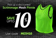 Offers on ADULT SCRIMMAGE MESH PINNIE / ADULT SCRIMMAGE MESH PINNIE (SET OF 12) LIME GREEN