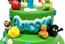 Barbapapà Cake / Barbapapà cake by www.torteamorefantasia.com