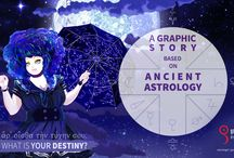 A Graphic Story based on Ancient Astrology by Gregory Rozek / A Graphic Story Based on Ancient Astrology (and not only). By a graphic designer and astrologer - Gregory Rozek  My big project I have planned since childhood.  Visit www.gregoryrozek.com website for more news!