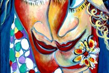 """Exhibition """"MALKA TSENTSIPER"""" / """"Personagens gordinhos em cenas divertidas que exploram um mundo intimista são fontes de inspiração inesgotáveis nas obras da artista Malka Tsentsiper. Em seus trabalhos casais mais arredondados são retratados em situações satíricas e ao mesmo tempo românticas.  A artista não preocupa-se em preservar as proporções naturais e os elementos anatómicos dos personagens que representa""""."""