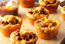 Muffins / Barbque muffins