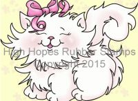 High Hopes Stamps Cats / High Hopes  Rubber Stamps Cats