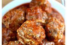 Meatball recipes Bobby Flay