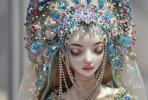 Porcelain dolls / Inspiring beauty of porcelain dolls