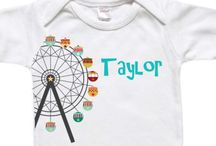 Personalized Baby & Toddler Boy Bodysuits & Shirts / Our personalized baby and toddler bodysuits and shirts are perfect for gifts and special occasions!  What makes us different? ~We use high-quality 100% cotton garments that hold their shape and last ~We are happy to create custom designs at no extra cost ~We are happy to include a gift card with your order and ship directly to your gift recipient ~We are always here to help...just ask!
