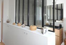 Salle de bains / Les plus belles salles de bains réalisées par l'agence d'architecture Studio d'Archi pour des rénovations d'appartements à Paris.