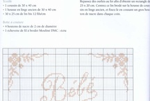 cross stitch bordure