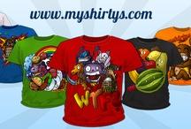 myshirtys.com / Myshirtys befasst sich damit, Textilien aller Art herzustellen. Durch unsere eigene Zeichnerin, können wir speziell auf Wünsche eingehen, was es uns ermöglicht, später ein breites Spektrum abzudecken.