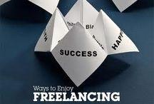 Being a freelancer / Life as a freelancer.
