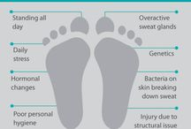 Stinky feet causes