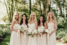 Wedding Colour - Cream / Beautiful all year round cream is a traditional and classic wedding colour theme. Richer and warmer than ivory but not as deep as champagne or pale golds, it has great versatility when it comes to choosing accent colours and flowers.