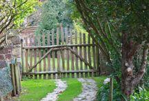 Gartengestaltung + Haus