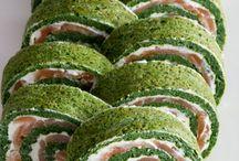 rollo salmon espinacas