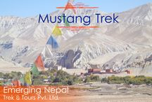 Mustang Trek / Exploration in Mustang is a never ending trek. During the Mustang Exploration, trekkers are astonished in the middle of under explored caves. http://www.emergingnepal.com/