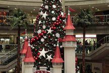 decoración centro comercial
