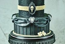 Gothic/Victorian themed cake