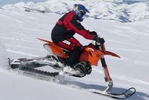 Experience Snow Bike with Gears