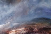 Gareth Buxton paintings at Tarpey Gallery / paintings by Derbyshire artist Gareth Buxton