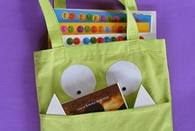 Sewing library bags