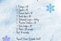 Cvičení / Workouty, outfity, zdravé jídlo, zdravý životní styl