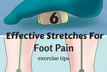 Ouch / Foot pain - planta facia