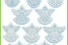 Free Standing Lace - Machine Embroidery Designs / Free-standing lace machine embroidery designs from Lindee G Embroidery / by Lindee Miller Goodall