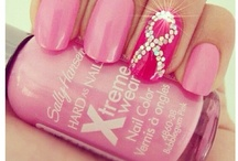 breast cancer awareness nail ideas