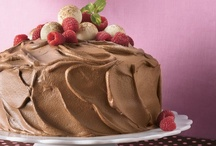 Cakes - Mousse¤ / A rich, flourless cake that is baked in a water bath, similar to custard. The dessert is chilled and then unmolded before serving. / by contentedme