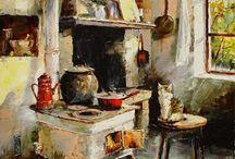 Art painter Gleb GLOUBETSKI