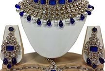 Dazzling Indian Bollywood Bridal Kundan Jewellery Set