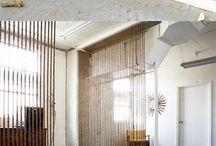 cortinas porta e separaçoes