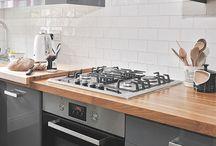 Graphite kitchen units