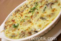 картофель, грибы, овощи