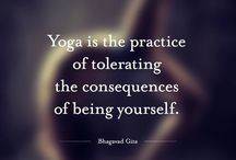 Yoga... practice makes peaceful