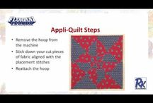 Total Quilter Video and Projects