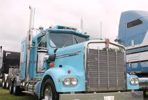 Kenworth W900A: A True Large Car Classic / One of the old, original of the classic large cars of the highways: the Kenworth W900A: Style, class and grace. Many of these trucks are restored for every day working trucks and also for show.  / by Smart Trucking