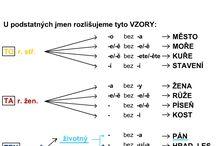 český jazyk pracovní listy