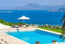 Piscinas maravilhosas / Um monte de piscinas lindas pra te inspirar a aproveitar o verão que tá chegando.