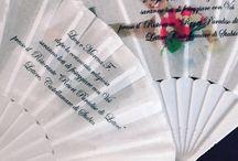 stampa su ventaglio personalizzato wedding matrimonio
