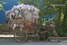 Kashgar China / Kashgar city of the uighur