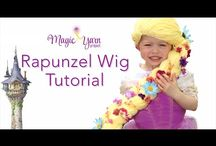 Video Tutorials / Easy to make soft yarn wigs designed for little cancer fighters. Make one for a local fighter, or send us your creation and we will find a special home for it. Learn more www.TheMagicYarnProject.com